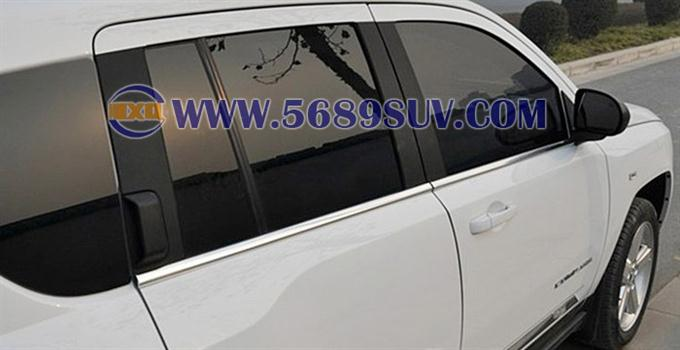 jeep指南者车窗饰条,指南者专用车窗饰条,指南者下窗饰条,指高清图片